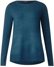 Street One Marie, Maglione Donna, Türkis (Pacific Blue 10991), 44
