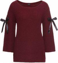 Pullover con nastri (Rosso) - BODYFLIRT