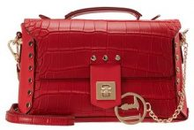 Trussardi Jeans ACACIA COCCO HANDLE BAG Borsa a mano red