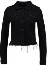 ONLY ONLCHRIS EYELET JACKET Giacca di jeans black denim