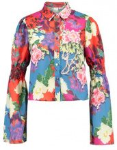 Lost Ink SHIRRED SLEEVE  Camicetta multicoloured
