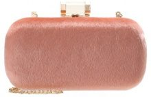 Missguided FAUX PONY Pochette pink