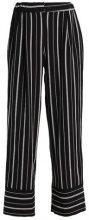 YAS YASMALEO WIDE PANT Pantaloni black