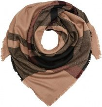 PIECES Pcjovene Square Scarf, Cappello in felto Donna, Multicolore (Whitecap Gray), Taglia unica
