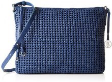 BognerKeiki - Borsa a tracolla Donna , blu (Blu (Ink)), 5x28x34 cm (B x H x T)