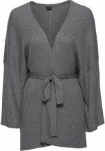 Cardigan kimono (Grigio) - BODYFLIRT