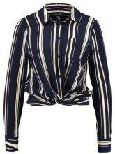 New Look NINA TWIST FRONT Camicia blue
