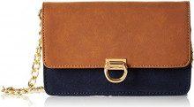 ESPRIT 097EA1O049, Borsa a Tracolla Donna, Multicolore, 5,5x13x19 cm