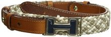 Tommy Hilfiger Golf - H BRAIDED BELT, Cintura da donna, marrone (cognac/multi), L