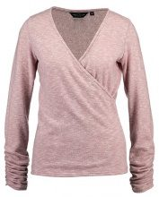 Dorothy Perkins BRUSHED RUCH SLEEVE WRAP Maglietta a manica lunga rose
