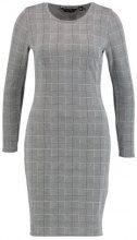 Dorothy Perkins CHECK BODYCON DRESS STANDARD BLOCK Abito in maglia mono