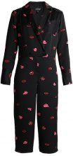 Topshop LIPS  Tuta jumpsuit black