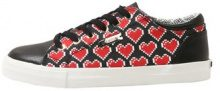 Love Moschino HEART CUPSOLE Sneakers basse black