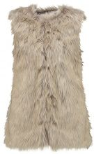 New Look NATURAL FLUFFY GILET Smanicato brown