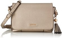Liu Jo S Cross Body Arizona - Borse a tracolla Donna, Oro (Gold), 11.5x20x26 cm (B x H T)