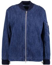 Kings Of Indigo ANGELINA Giubbotto Bomber blue denim