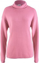 Pullover a collo alto (rosa) - bpc bonprix collection