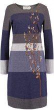 Cream LISA FLOWER Abito in maglia vintage blue