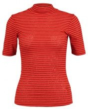 GStar XINVA SLIM FUNNEL T 1/2 SL Tshirt con stampa red pepper/brown brandy