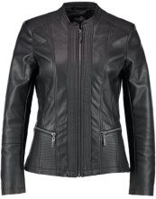 Wallis MULTISTITCH JACKET Giacca in similpelle black