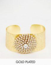 Taara Jewellery - Bracciale rigido placcato oro 22 ct