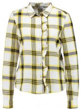 Noisy May NMERIK FRONT Camicia lemon chrome/black/white