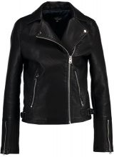 Topshop Tall DAZE BIKER Giacca in similpelle black