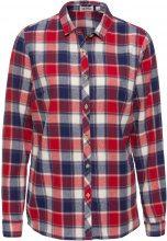 Camicia in flanella a manica lunga (Rosso) - John Baner JEANSWEAR
