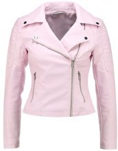 Noisy May Petite NMREBEL JACKET  Giacca in similpelle barely pink