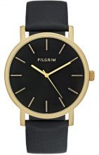 Pilgrim Orologio goldcoloured/black