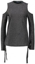 Dorothy Perkins Tall LONG SLEEVE COLD Maglietta a manica lunga silver
