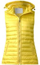 Street One 220070, Gilet da Esterno Donna, Gelb (Canary Yellow 11202), 48