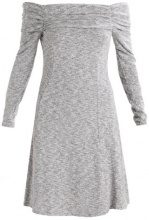 Dorothy Perkins Tall FOLDOVER BARDOT DRESS Vestito estivo grey