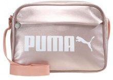 Puma CAMPUS REPORTER Borsa a tracolla peach beigemetallic
