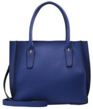 Dorothy Perkins MINI PLEAT TOTE Borsa a mano blue