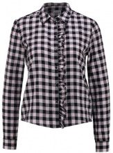 Noisy May Petite NMERIK FRONT FRILL Camicia black