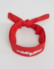 Reclaimed Vintage Inspired - Bandana dei Rolling Stones - Rosso