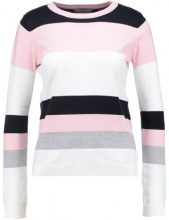 Dorothy Perkins Petite STRIPE JUMPER Maglione white/rose/black