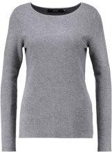 Vero Moda VMGLORY FULLNEEDLE Maglione medium grey melange