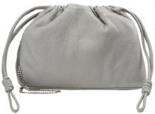 Topshop DRAWSTRING Shopping bag grey