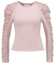 Lost Ink Petite LONG SLEEVE Maglietta a manica lunga pink