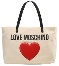 Love Moschino Shopping bag beige