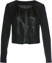 Bolero con paillettes (Nero) - bpc selection