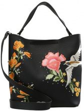 Topshop HOLLY BIRD HOBO Borsa a mano black