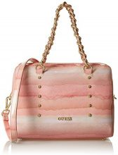Guess Joy, Borsa a Mano Donna, Multicolore (Light Rose Multi), 17.5 x 20.5 x 28 cm (W x H x L)