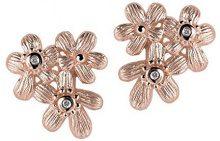 Orphelia–Orecchini da donna in argento 925rodiato con zirconi bianchi taglio rotondo per donna–6026, argento, colore: rose gold, cod. ZO-6026/1