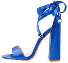 BEBO VICTORIA Sandali con tacco blue