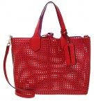 Shopping bag - pink/red