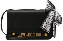 Love Moschino MOSCHINO BOW SHOULDERBAG Borsa a tracolla black
