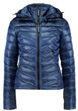 Superdry FUJI CHEVRON HOOD JACKET Giacca invernale pacific blue metallic